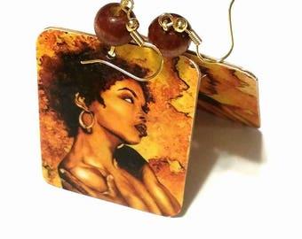 Lauryn Hill Hip Hop Earrings #70