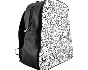 Kitty School Backpack