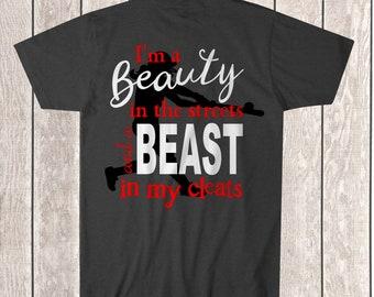 Beast in My Cleats Tee