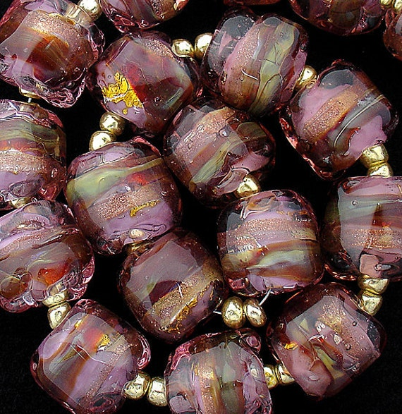 Glass Beads Lampwork Beads Statement Necklace Nugget Beads For Jewelry Supplies Beading Bracelet Bead Necklace Custom Jewelry Debbie Sanders