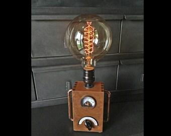 Vintage industrial lamp EDISON loft steampunk factory atelier