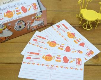 Sweet Treats Recipe Cards (Set of 10 Cards)