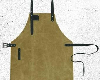 Leather apron from Gaba-Gaba