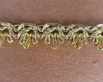 Gold Loopy Trim