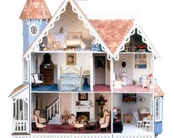 Greenleaf The McKinley Dollhouse Hanging Model