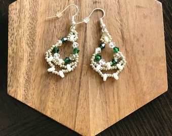 Irish Cloud Earrings