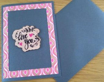 "card ""love you"""