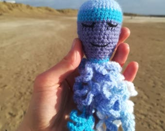 Crochet Octopus, Baby Octopus, Stuffed Sea Creature, Sea Life