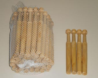 Boxwood Right Lace Bobbins-Pack of Fifty