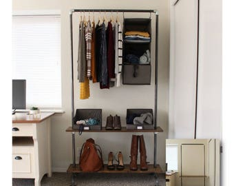 Industrial Clothing Rack - Industrial Clothes Rack - Coat Rack