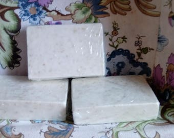 Honey & Oatmeal Soap. Goat's Milk Soap