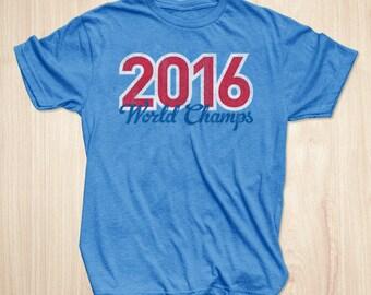 Chicago Cubs World Series Shirt, 2016 World Champs