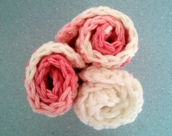 Crocheted Cotton Dish Cloths