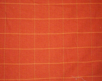 Roth & Tompkin Plaid in Terra Cotta