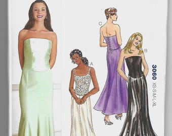 3060 Kwik Sew Top and Skirt Sewing Pattern XS-S-M-L-XL Kerstin Martensson Out of Print