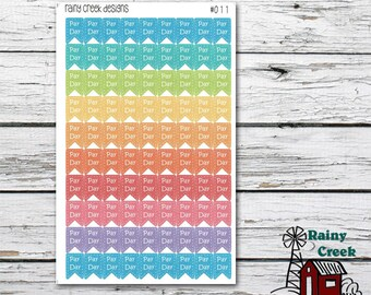 Pay Day Mini Flag Planner Stickers/ Pay Day Stickers/ Finance Stickers/ Erin Condren/ Plum Paper/ Inkwell Press/ Happy Planner #011