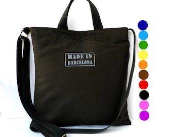 Made in Barcelona Messenger bag Shoulder bag hand bag crossbody bag purse blue strong tote  sport bag shopping bag Barcelona