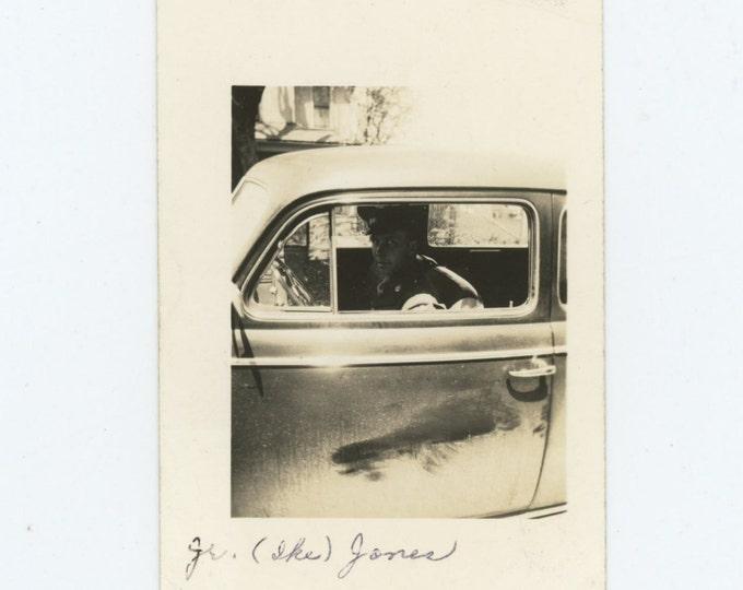 "Vintage Snapshot Photo: ""Ike"", c1940s (611521)"