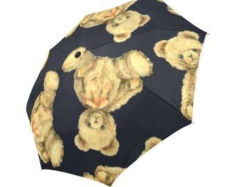 Rain accesory, Automatic folding umbrella, Wind proof umbrella, wind proof, Umbrellas, Parasol, Gift for her, Birthday gift, Art print