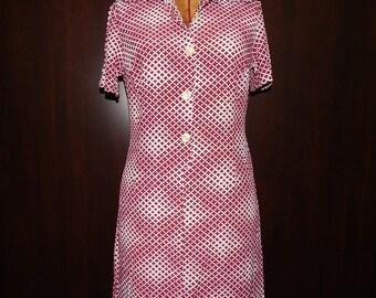 Rare United Colors of Benetton Dress Bust 36 Waist 30 Hip 36