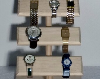 Jewelry Display, Watch Display, Bracelet Stand, Watch Organizer, Jewelry Holder, Watch Stand, Watch Storage, Watch Holder, Necklace Stand