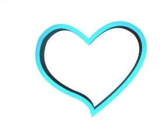 Heart Cookie Cutter 400 Heart Cookie Cutter Valentines Cookie Cutter Love Cookie Cutter
