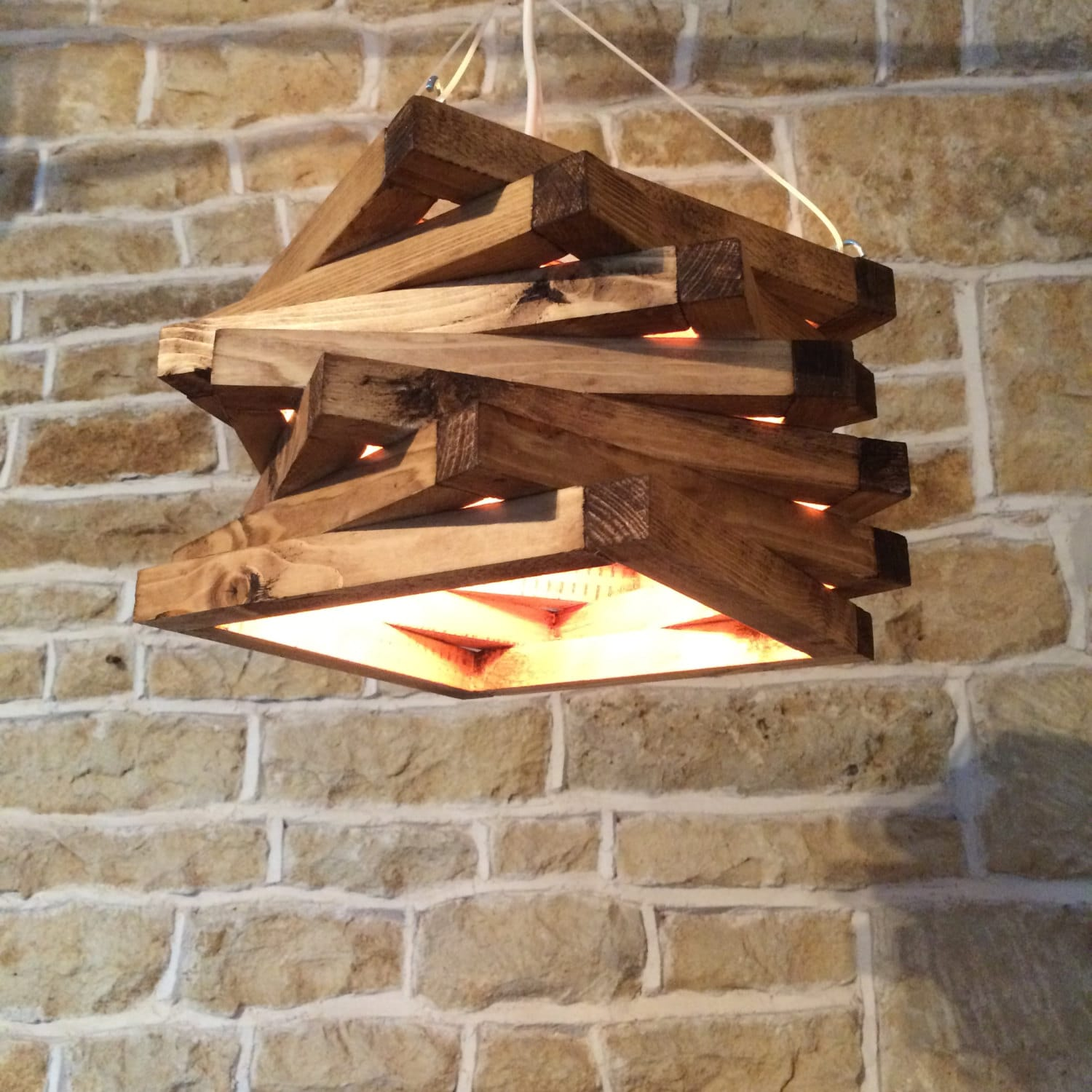 Rustic wood light rustic ceiling light wood light fixture zoom arubaitofo Image collections