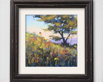 "Original Pastel Painting ""Spring"""