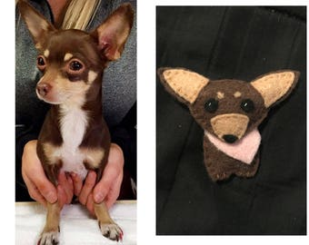 Personalized Felted Animal