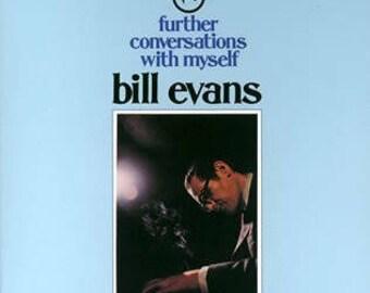 Bill Evans- Further Conversations With Myself 60's Post Bop Jazz Vinyl LP
