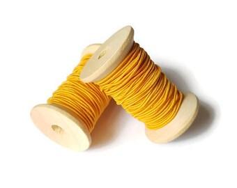 Orange elastic son 1 mm