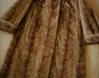 Vintage Long Mink Coat James M. Bell Furrier Lancaster PA- Gorgeous! One Owner!