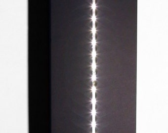 The Dark Side Wall lamp-Black & White