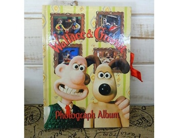 Wallace & Gromit Photograph Album - Collectible Photo Album