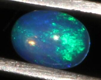 0.40 CTS Natural Ethiopian Opal Canochon Welo Fire Opal loose Gemstone Cabochon Fire Opal Good Quality Opal ##53