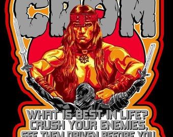 Conan The Barbarian Vintage Image T-shirt