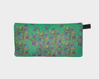 WATERCOLOUR pencil case/small makeup bag