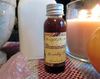 Illuminance Anointing Oil / Holy Oil / consecration, blessing, Biblical oil, angelic, Luciferian, altar oil - 100% Natural