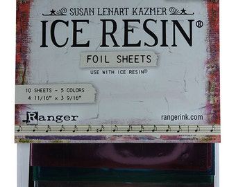 Ice Resin Foil Sheets  (CE755)
