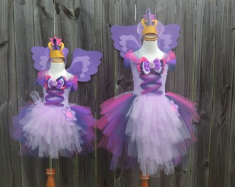 MLP My Little Pony Equestria Girls Twilight Sparkle Tutu with Wing Set