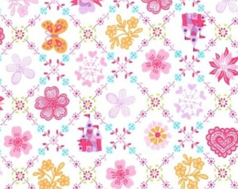 Fat Quarter Princess Charming Royal Sampler Brite 100% Cotton Quilting Fabric