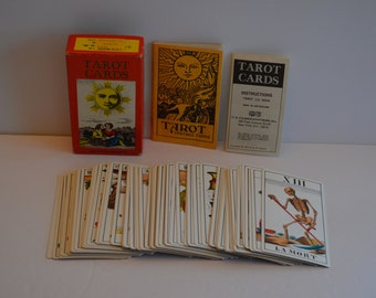 1970 TAROT CARDS Deck with Instructions