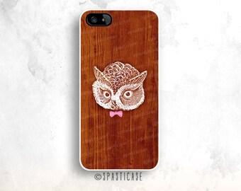 Owl iPhone 6S Case, Wood iPhone 6 Case, iPhone 5C Wood, Owl iPhone 5S Case, iPhone 6 Plastic Case, iPhone 6 Plus Wood Case, iPhone 4S Case