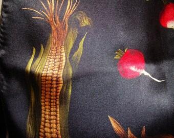 Silk Scarf, Vegetables, Nordstrom