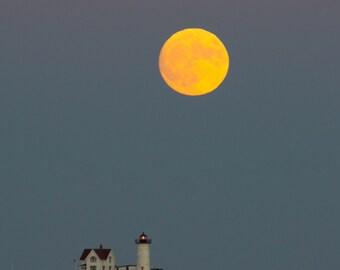 Bright Yellow Moon
