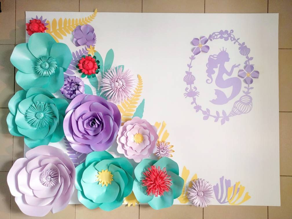 Paper flower party selol ink paper flower party mightylinksfo