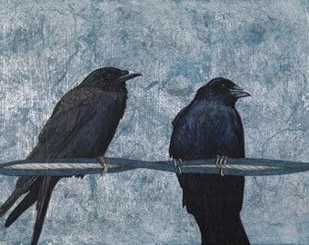 Crow Print Series