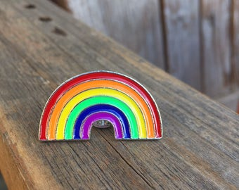 Rainbow Pin - Enamel Pin - Fashion Pin - Soft Enamel Pin - Magical Pin - Fantasy Enamel Pin - Stocking Stuffer - Limited Quantity