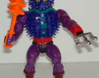 1984 Mattel Masters Of The Universe Spikor Action Figure Very Good Complete Vintage