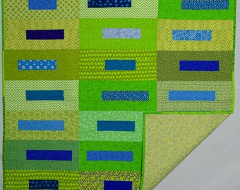 Baby boy quilt or wall hanging